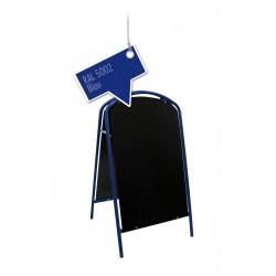 Werbeschild-Firmenschild-Werbemittel Strassenschild Kundenstopper Standard Blau