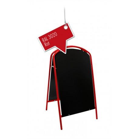 Werbeschild-Firmenschild-Werbemittel Strassenschild Kundenstopper Standard Rot