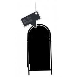 Werbeschild-Firmenschild-Werbemittel Strassenschild Kundenstopper XXL Anthrazit
