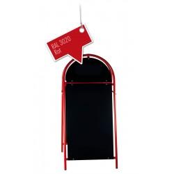 Werbeschild-Firmenschild-Werbemittel Strassenschild Kundenstopper XXL Rot