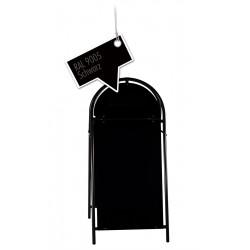 Werbeschild-Firmenschild-Werbemittel Strassenschild Kundenstopper XXL Schwarz
