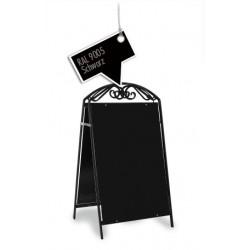 Werbeschild-Firmenschild-Werbemittel Strassenschild Kundenstopper Standard Schwarz
