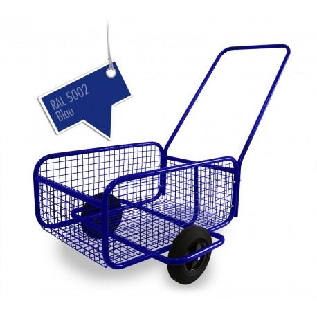 Handwagen Bollerwagen Transportwagen Einkaufswagen Transportwagen  Blau