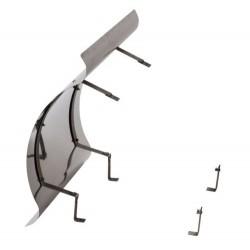 Schornsteinabdeckung Kaminabdeckung Kaminhaube Regenhaube klappbar 1mm