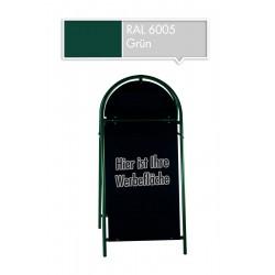 Werbeschild-Firmenschild-Werbemittel Strassenschild Kundenstopper XXL Grün