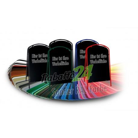 Werbeschild-Firmenschild-Werbemittel Strassenschild Kundenstopper Standard Sonder RAL Farbe